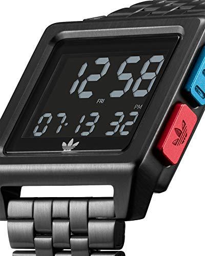 Adidas by Nixon digital modul klocka för män med rostfritt stål Z01-3042-00