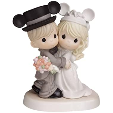 Precious Moments, Disney Showcase Collection,  Magically Ever After…, Bisque Porcelain Figurine, 620030