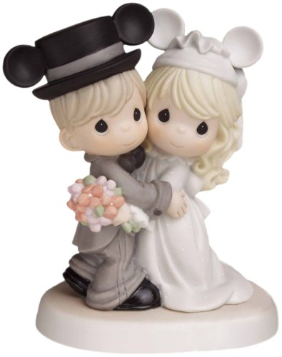 Precious Moments, Disney Showcase Collection,  Magically Ever After..., Bisque Porcelain Figurine, 620030