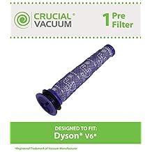 Dyson V6 Washable Pre Filter, Part # 965661-01