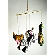Animal Mobile - Hand Crafted Baby Mobile Made In Uganda - From Project Have Hope