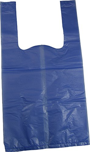 600 Clip (Baby Disposable Diaper Sacks with Tie Handles + FREE Clip - 600 Blue Bags)
