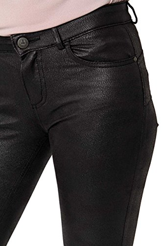 Puppick - Pantalón - recta - para mujer negro
