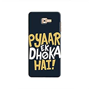Cover It Up - Love Betrays Galaxy C9 Pro Hard Case