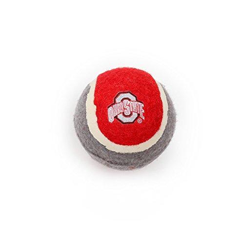 Pet Goods Manufacturing Ohio State Buckeyes Tennis Balls (4 Pack)