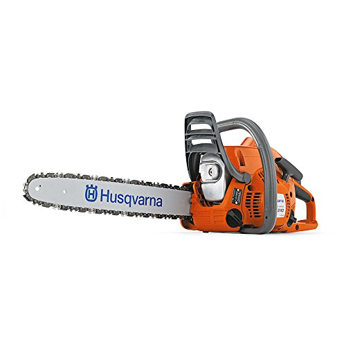 Husqvarna 240 Chain Saw – 14in. Bar, 38.2cc, 3/8in. Chain Pitch, Model# 240-14″