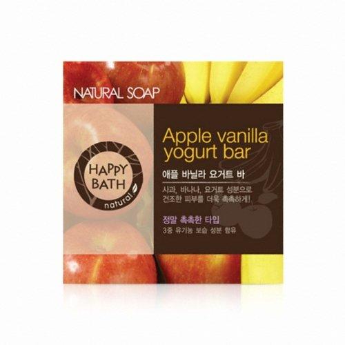 Happy Bath Apple Banilla Yogurt Bar [Korean Import]