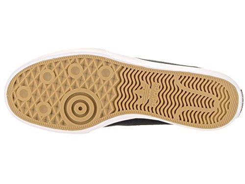 Adidas Mens Matchcourt Chaussure De Skate Slip Noir / Noir / Blanc