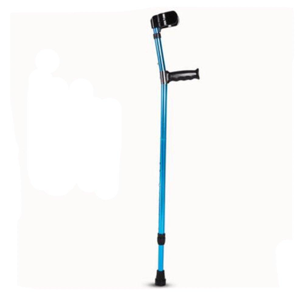 Moxin Arm Portable Ellenbogen Krücke, Aluminiumlegierung Faltbare Behinderte Person Rehabilitation Walking Stick B07DNG5W3C Wanderstcke Verbraucher zuerst