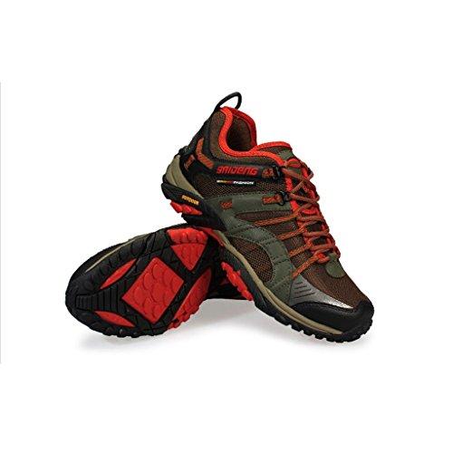 2017 Winter Männer Outdoor Sportschuhe Low-Top Sneakers Sport Outdoor Rutschfeste Dämpfung Stiefel 40-44 Khaki