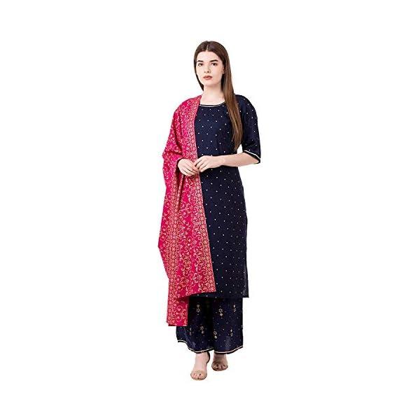Habiliments Women's Rayon Salwar Suit