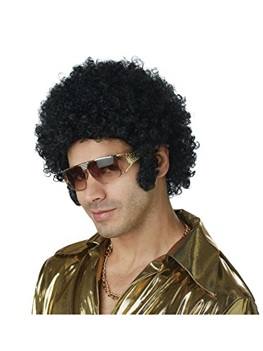 California Costumes Men's Afro Chops Wig,Black,One ()