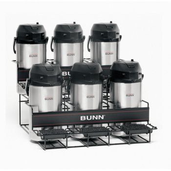 BUNN Universal Airpot Rack for 6 Airpots by Bunn