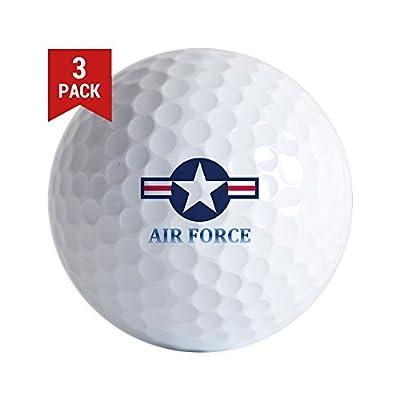 CafePress - U.S. Air Force - Golf Balls (3-Pack), Unique Printed Golf Balls