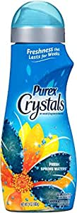 Purex Crystals Laundry Enhancer, Fresh Spring Waters, 24 Ounce