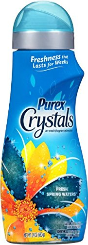 Purex Crystals Laundry Enhancer, Fresh Spring Waters, 24 Oun