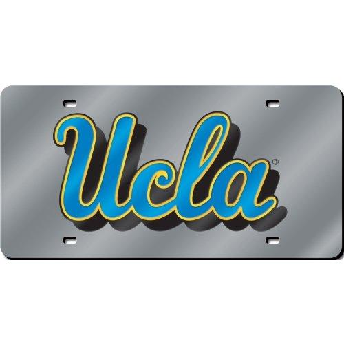 Rico NCAA UCLA Bruins Laser Cut License Plate, Silver ()