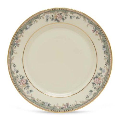 Lenox Spring Vista Gold Banded Ivory China Butter Plate (Vista Spring Fine Dinnerware)
