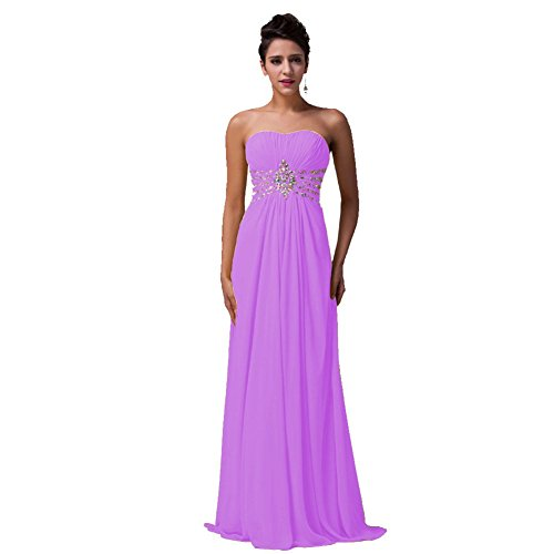 Bridesmaid Long reg; Bridal Gown Women's Lilac Sweetheart Evening Aurora wTI6Bqn