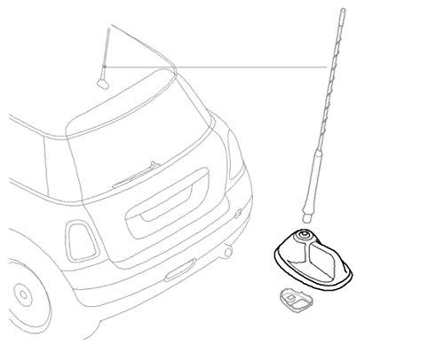 [해외]MINI Cooper 안테나 기반 표준 OEM 공장 교체는 해치백 및 클럽 맨에 적합합니다./MINI Cooper Antenna Base Standard OEM Factory Replacement fits Hatchb