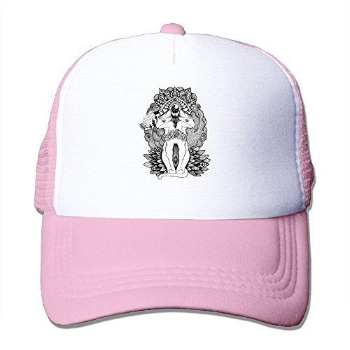 [SAXON13 Unisex Baseball-caps Mesh Back Pussy Cats Hat Cpas Pink] (Deluxe Parrot Costumes)