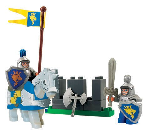 LEGO Lego duplo 4775 Knight and servants