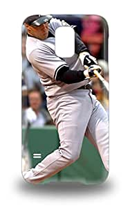 Durable Defender Case For Galaxy S5 Tpu Cover MLB New York Yankees Mark Teixeira #25