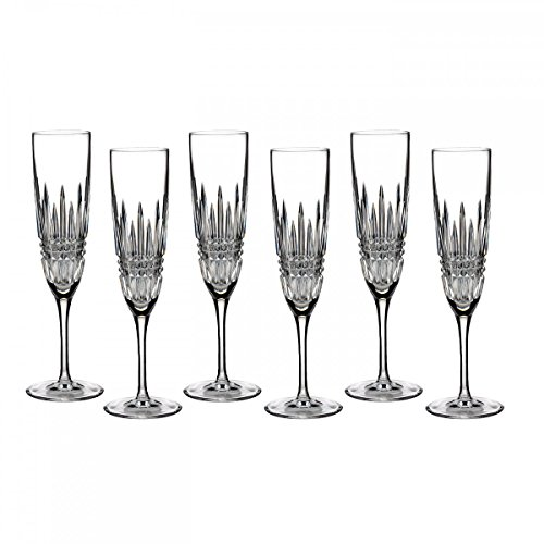 Waterford Lismore Diamond Flute, Set OF 6 by Waterford