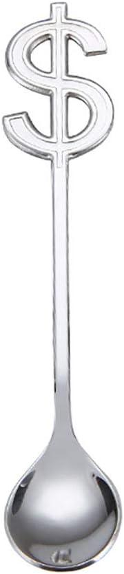 LSTC cuillere a Glace cuillere Dessert Caf/é Accessoires Sucre Glace cuill/ère Nutella cuill/ère Chocolat Chaud sur Une cuill/ère Cuill/ère /à Dessert 2pc,Color