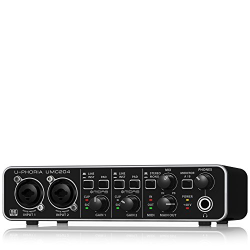 Behringer UMC204 Audio Interface by Behringer