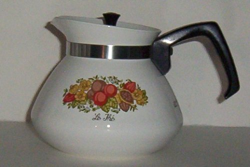 Corning Spice of Life (Spice o' Life) Teapot Tea Pot 6 cup w/lid