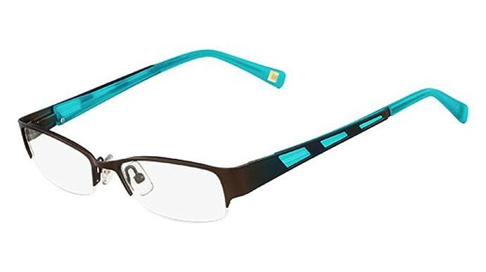 MARCHON Eyeglasses M-MAGNOLIA 210 Satin Brown 48MM at Amazon Men\'s ...