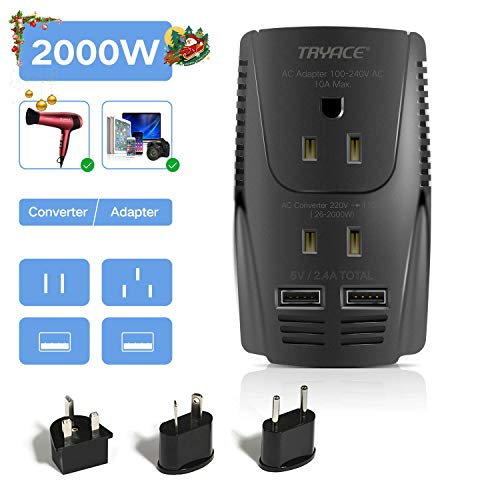 TryAce 2000W Voltage Converter