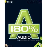 Audio 180 %, 1 CD-ROM Das Internetradio mit 'Aufnahmeknopf'. Für Windows 98 SE/ME/XP SP1 und SP2