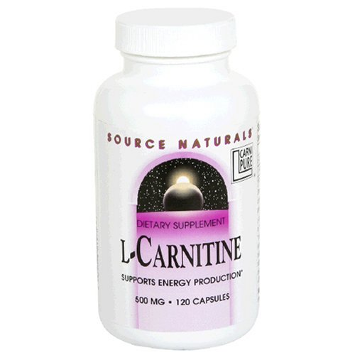 Source Naturals L-Carnitine 500mg, 120 Capsules
