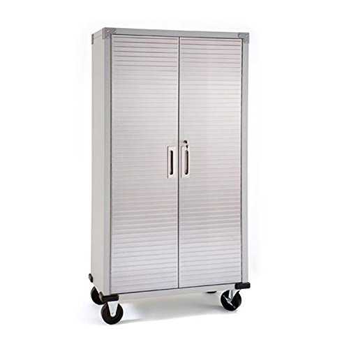 Seville Classics Heavy Duty Storage Cabinet UHD16234  sc 1 st  Amazon.com & Metal Storage Cabinets: Amazon.com