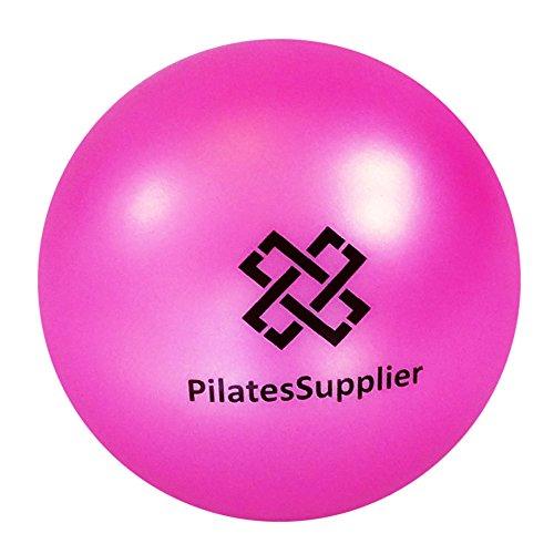 "Pilates 4"" (10cm) Accessory Mini Ball for AeroPilates, Yoga, Fitness, Strength, Pilates Reformer or Mat Pilates PINK"