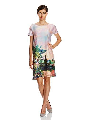 IT Chiaro Uttam Boutique UK Abito 10 44 Rosa Blu qxAxgHn