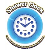Blue Translucent Shower Clock