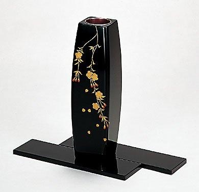 しだれ桜花 花器(板付) B00H3BPWA2