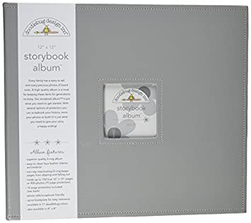 Doodlebug Design Storybook for Scrapbooking Photo Album 12 by 12-Inch 12x12