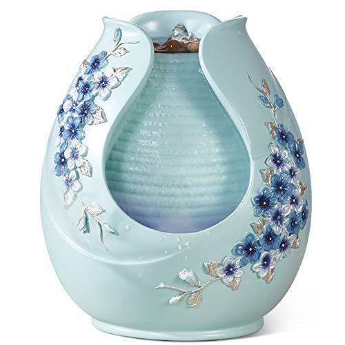 XXXR Desktop Waterfall, Creative Bonsai Portable Waterfall Desktop Fountain Home Decoration Craft Gift ()