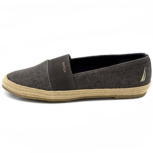 Nautica Black Espadrille Shoe Casual Flat On Slip Women's Highsmith qqwFpORv