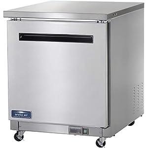 Arctic Air AUC27R 27″ Undercounter Refrigerator – 6.5 cu. ft, Stainless Steel