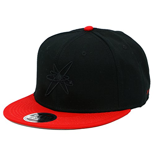 Strung Out Astrolux Black Red Snapback Hat