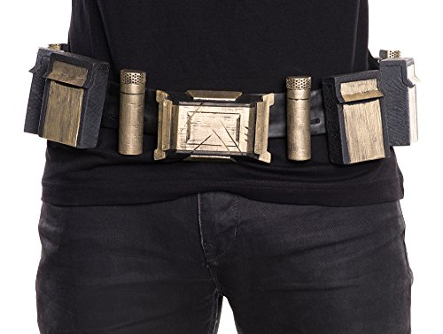 Rubie's Men's Batman v Superman: Dawn of Justice Batman Belt, Multi, One (Superman Boot Tops)