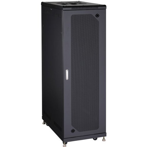 - Black Box RM2430A 38U Select Server Cabinet with TE MPERED Glass Door