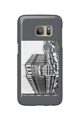 Macy's on Herald Square New York - Vintage Photograph (Galaxy S7 Cell Phone Case, Slim Barely - Herald New Square Macy's York