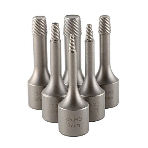"6pc 3/8"" Drive Screw Extractor Impact Socket Set (2-10mm)"