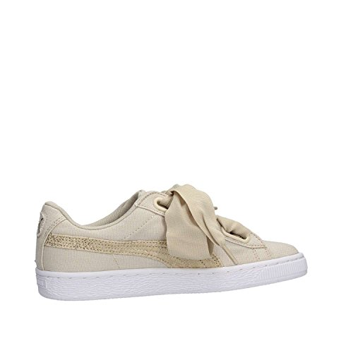 Heart Puma Canvas Basket Beige Wn's Ezq6Rvx6n